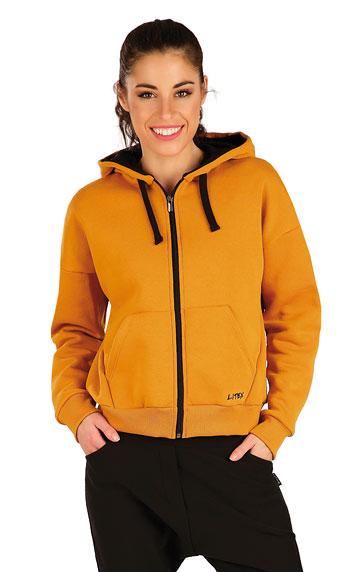 Mikina dámská na zip s kapucí.