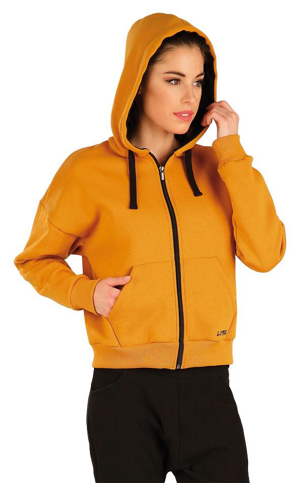Mikina dámská na zip s kapucí. 7A306 | Bundy, vesty LITEX