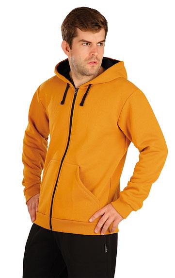 Mikina pánská na zip s kapucí.