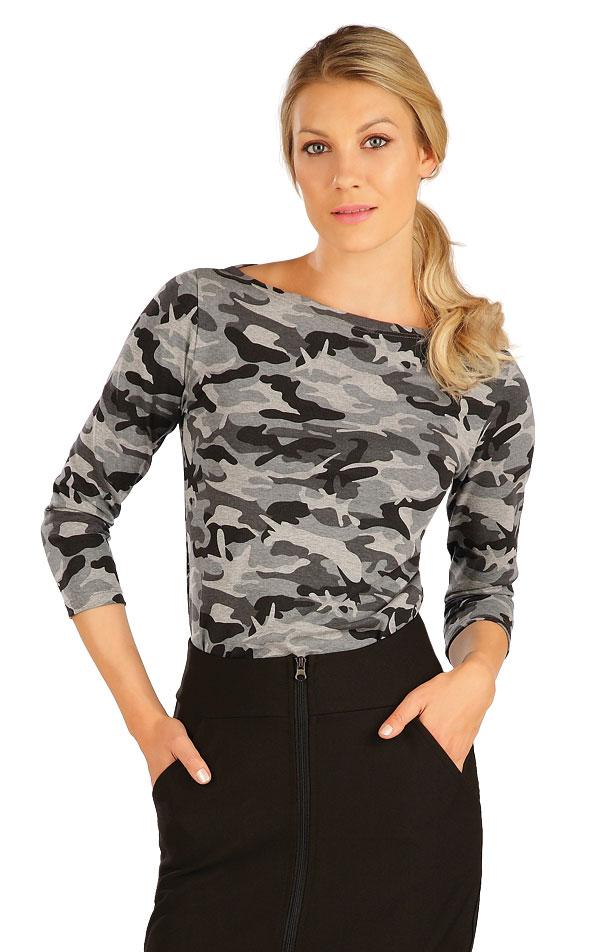 Tričko dámské s 3/4 rukávem. 7A329 | Trika, topy, tílka LITEX