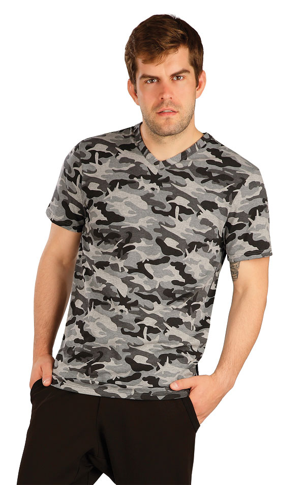 Tričko pánské s krátkým rukávem. 7A330 | Trika, tílka LITEX
