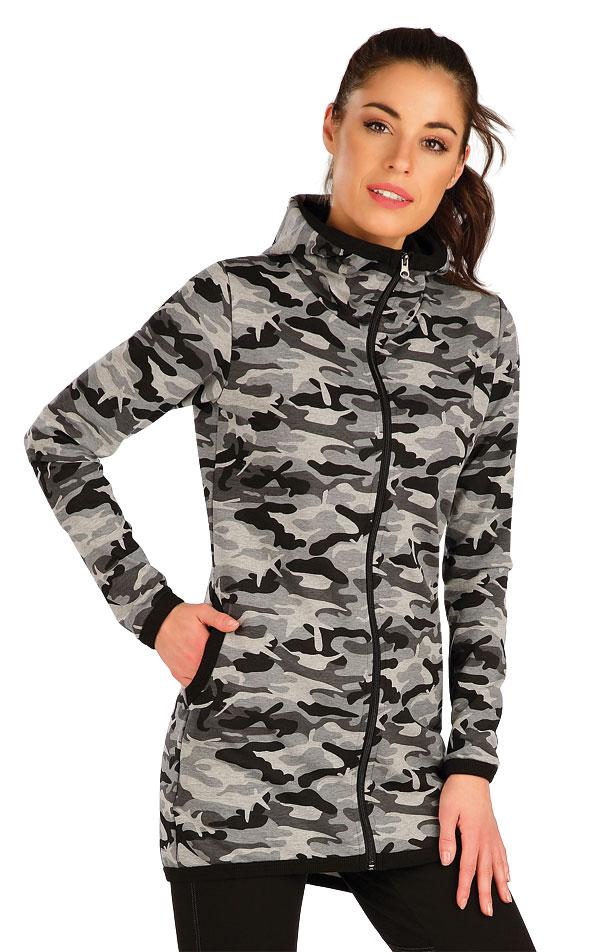 Mikina dámská s kapucí. 7A333 | Vesty a bundy LITEX
