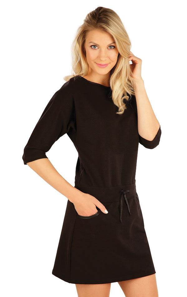 Šaty dámské s 3/4 rukávem. 7A349 | Šaty, sukně, tuniky LITEX