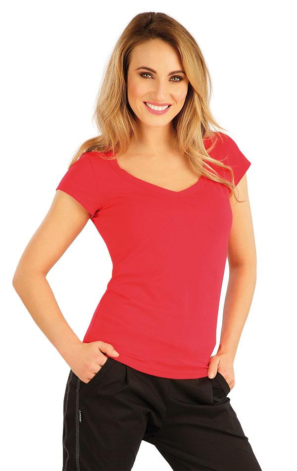 Tričko dámské s krátkým rukávem. 7A360   Tílka, trička, halenky LITEX