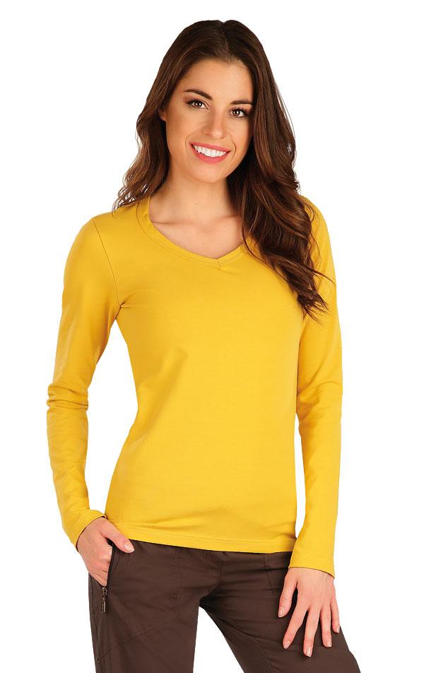 Tričko dámské s dlouhým rukávem. 7A361 | Tílka, trička, halenky LITEX
