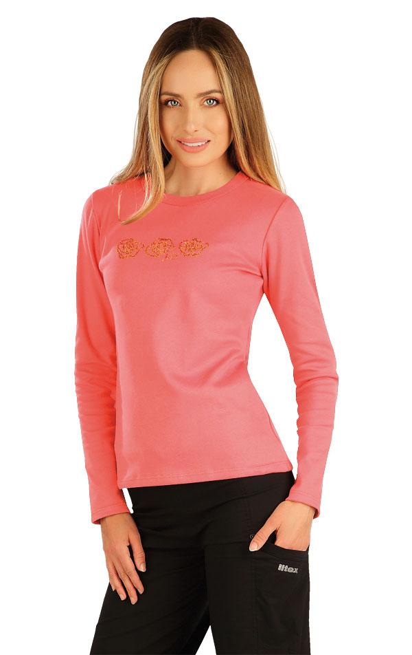 Tričko dámské s dlouhým rukávem. 7A363 | Tílka, trička, halenky LITEX
