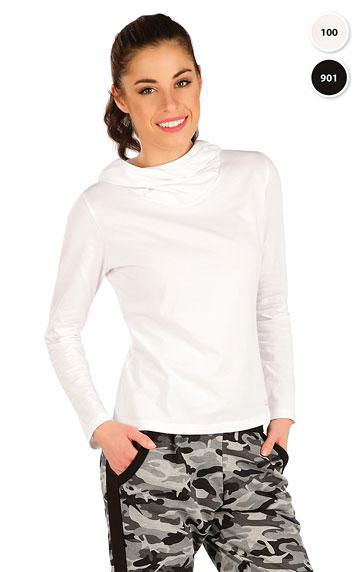 Tričko dámské s překříženou kapucí.