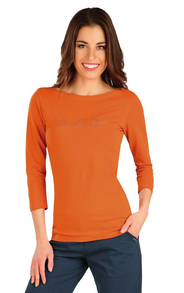 Tričko dámské s 3/4 rukávem. 7A366 | Tílka, trička, halenky LITEX