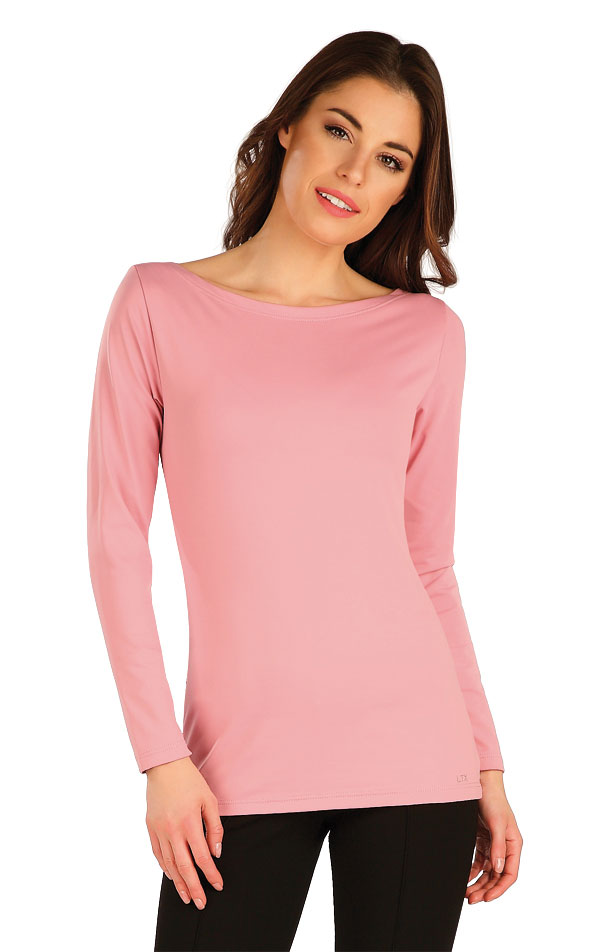 Tričko dámské s dlouhým rukávem. 7A436   Tílka, trička, halenky LITEX