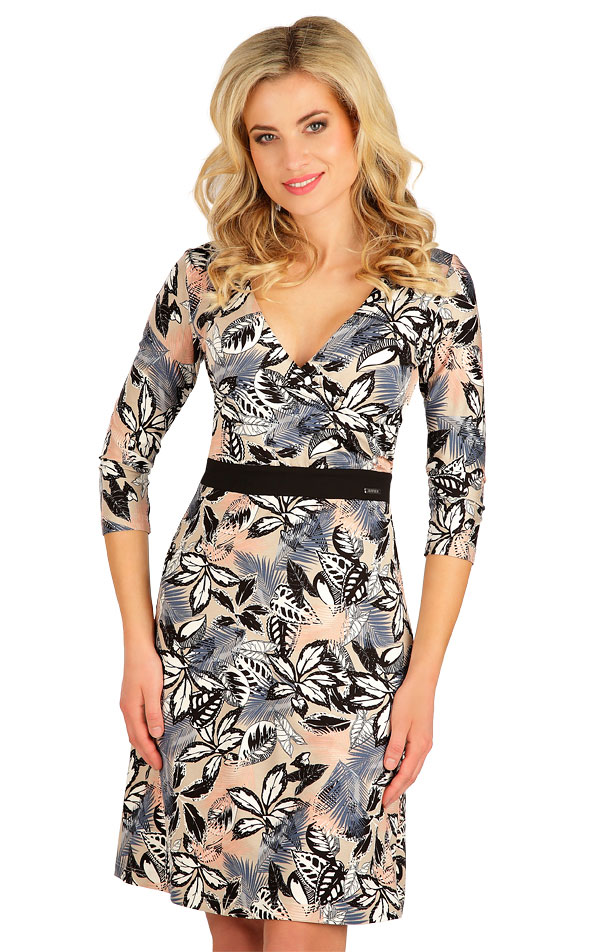 Šaty dámské s 3/4 rukávem. 7B011 | Šaty, sukně, tuniky LITEX