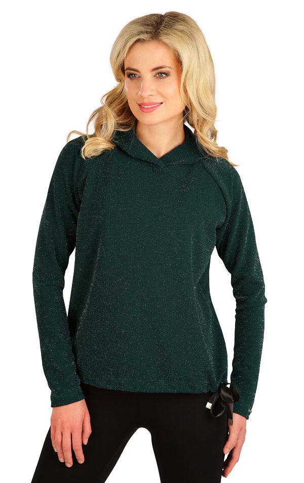 Triko dámské s kapucí. 7B029 | Tílka, trička, halenky LITEX