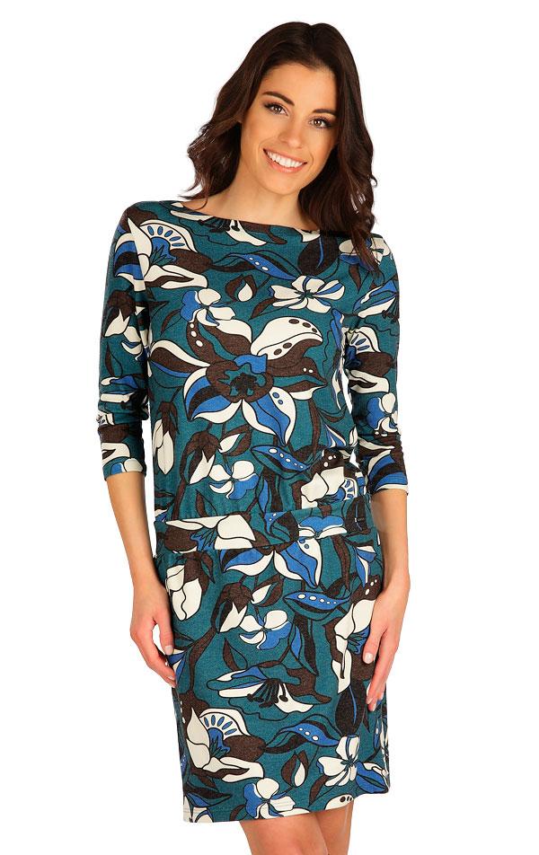 Šaty dámské s 3/4 rukávem. 7B041 | Šaty, sukně, tuniky LITEX