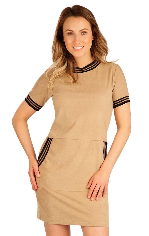 Šaty dámské s krátkým rukávem. 7B050   Šaty, sukně, tuniky LITEX