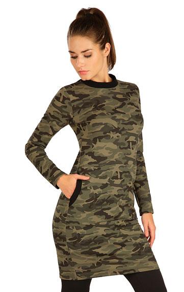 Šaty dámské s dlouhým rukávem.