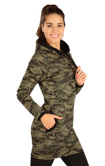 Mikinové šaty > Šaty dámské s kapucí. 7B082