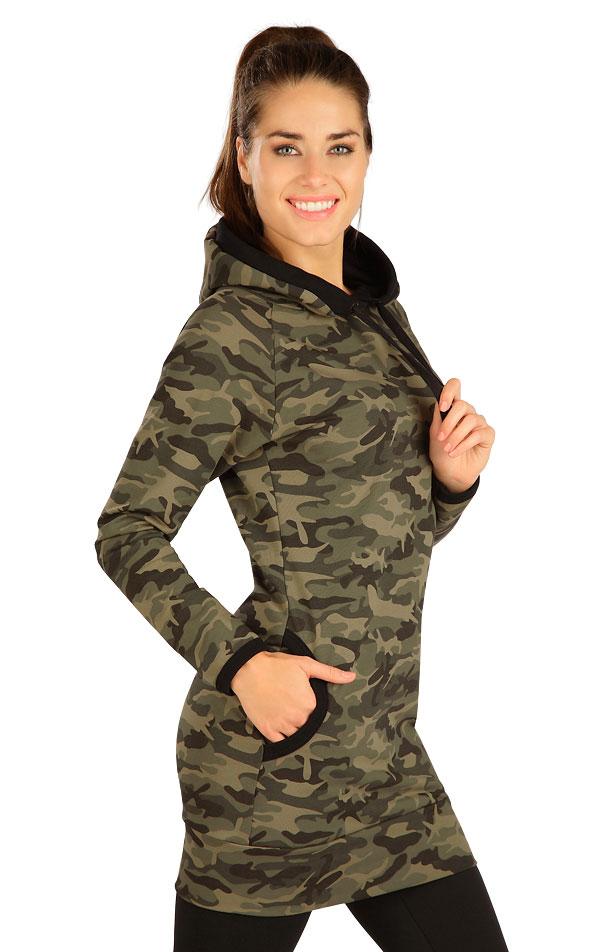 Šaty dámské s kapucí. 7B082   Šaty, sukně, tuniky LITEX