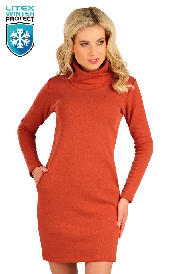 Mikinové šaty s dlouhým rukávem. 7B086 | Šaty, sukně, tuniky LITEX