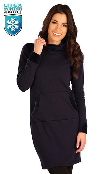 Mikinové šaty > Mikinové šaty s kapucí. 7B102