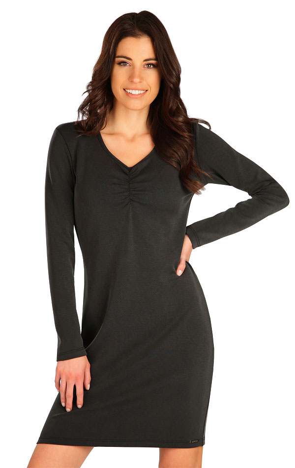 Šaty dámské s dlouhým rukávem. 7B132   Šaty, sukně, tuniky LITEX