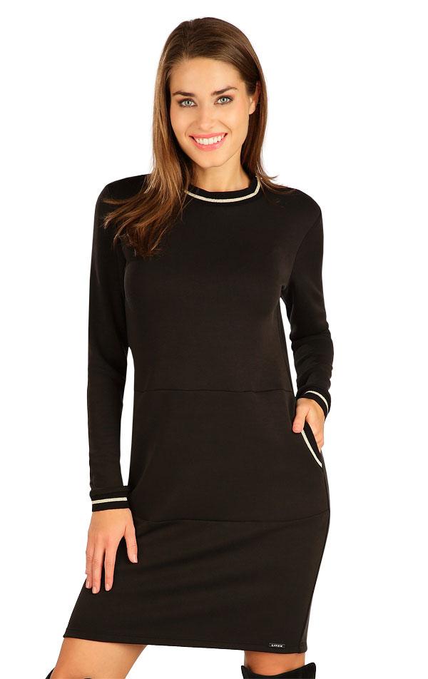 Šaty dámské s dlouhým rukávem. 7B141   Šaty, sukně, tuniky LITEX