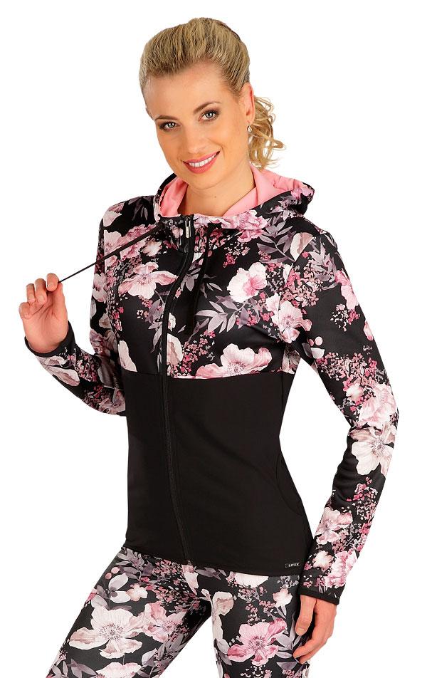 Mikina dámská s kapucí. 7B172   Bundy, vesty LITEX