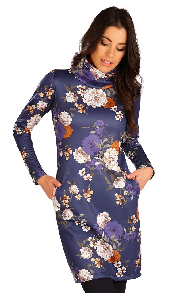 Mikinové šaty s dlouhým rukávem. 7B180 | Šaty, sukně, tuniky LITEX