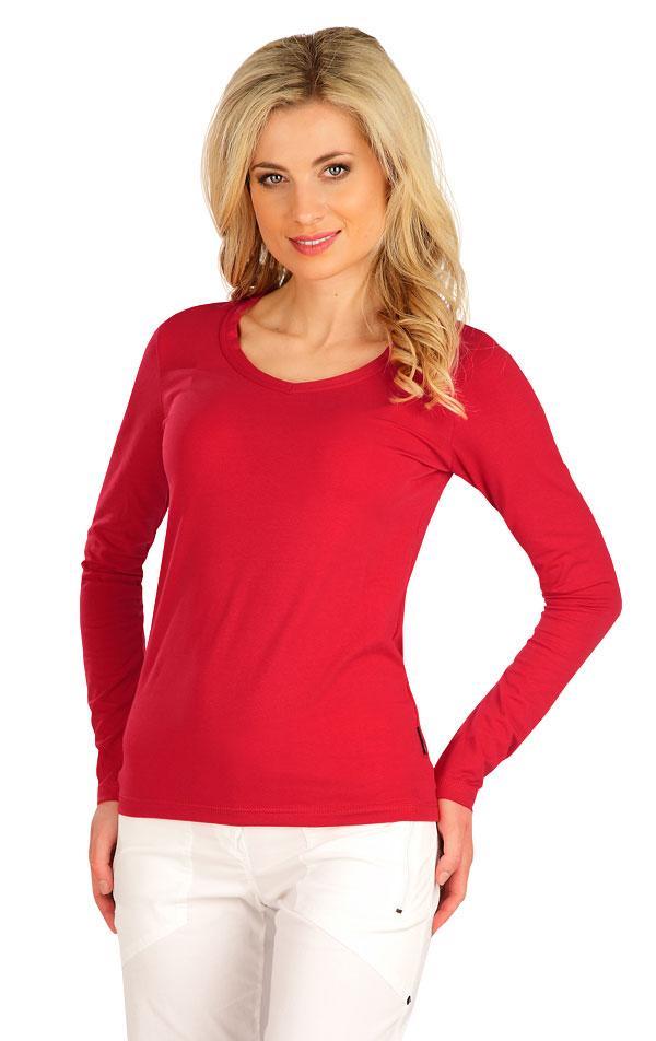 Tričko dámské s dlouhým rukávem. 7B227 | Tílka, trička, halenky LITEX