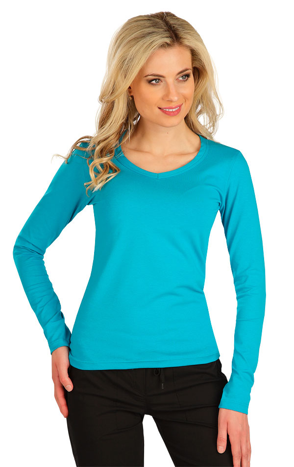 Tričko dámské s dlouhým rukávem. 7B228   Tílka, trička, halenky LITEX