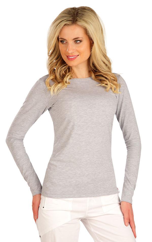 Tričko dámské s dlouhým rukávem. 7B229   Tílka, trička, halenky LITEX