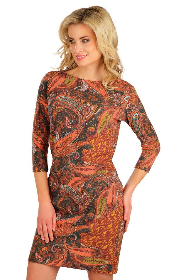Šaty dámské s 3/4 rukávem. 7B293   Šaty, sukně, tuniky LITEX