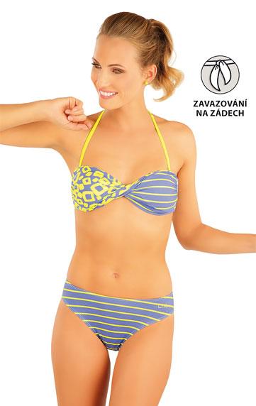 Plavky podprsenka BANDEAU s košíčky.