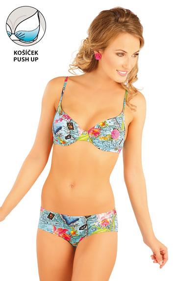 Plavky podprsenka s košíčky push-up.