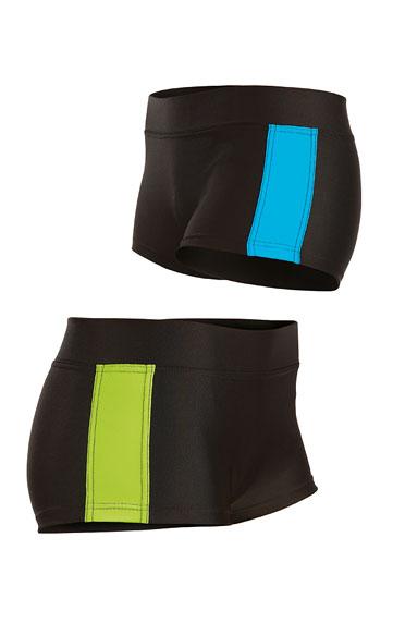 Plavky kalhotky bokové s nohavičkou.