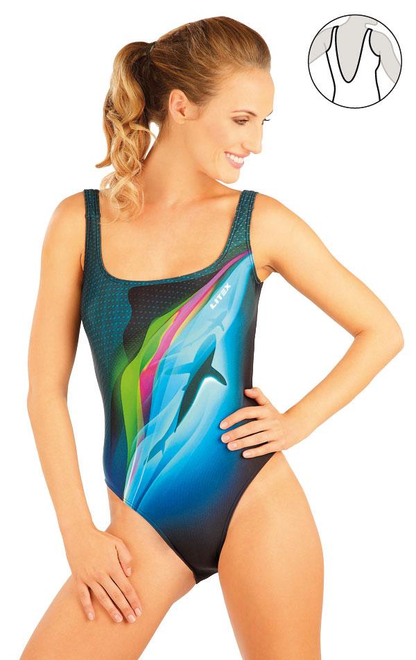 Jednodílné sportovní plavky. 88396 | Sportovní plavky LITEX