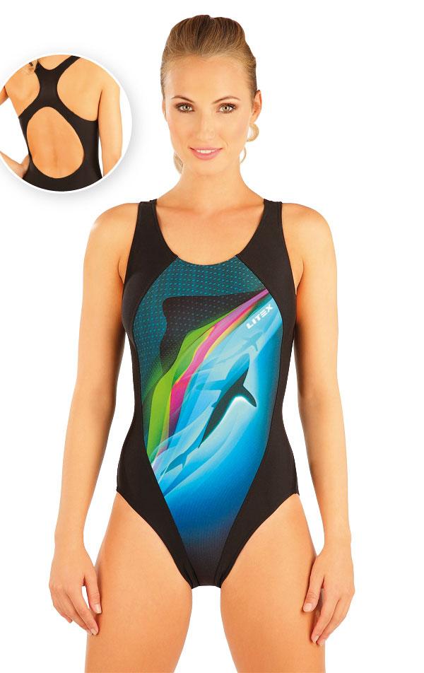 Jednodílné sportovní plavky. 88398 | Sportovní plavky LITEX