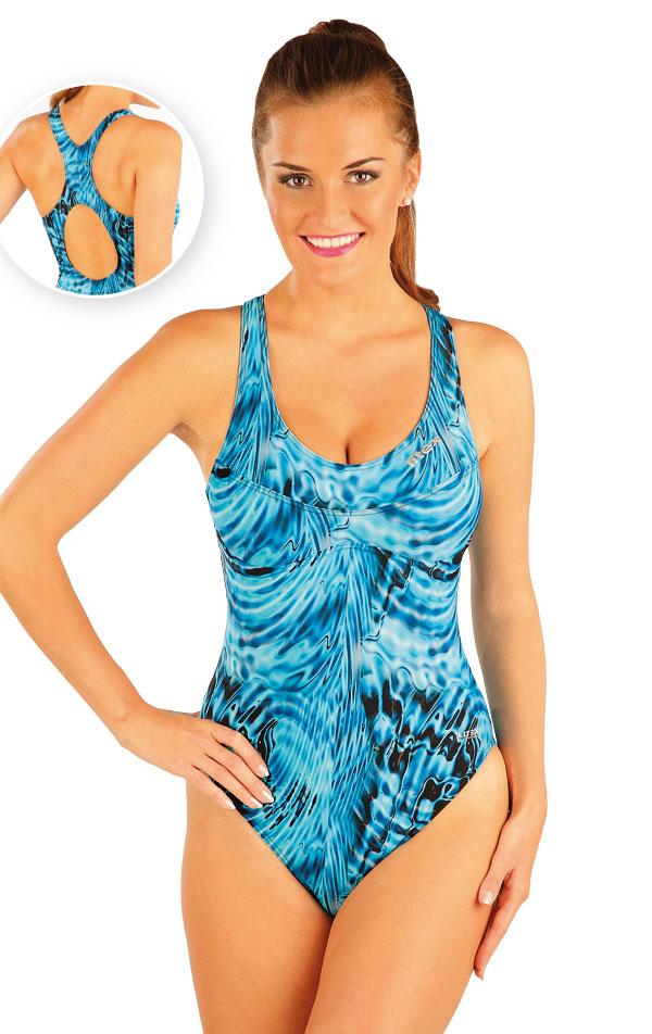 Jednodílné sportovní plavky. 88403 | Dámské plavky LITEX