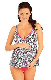 Dvoudílné těhotenské plavky.