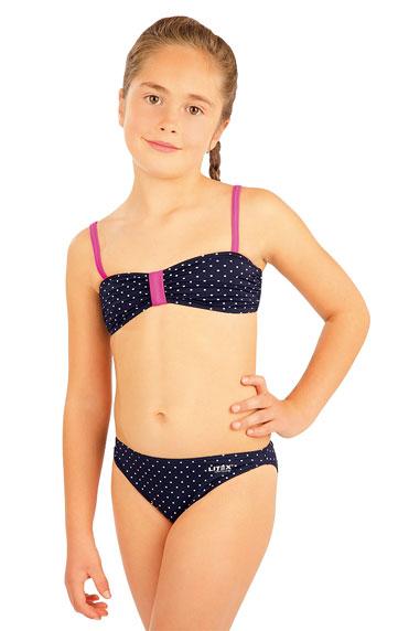 Dívčí plav.podprsenka BANDEAU bez výztuž