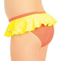 Dívčí plavkové kalhotky bokové.