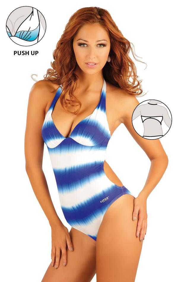 Jednodílné plavky s košíčky push-up. 93082 | Jednodílné plavky LITEX