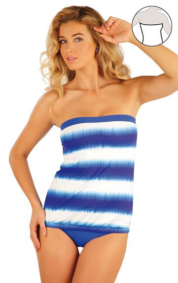 Plavky top dámský s vyjímat. výztuží.