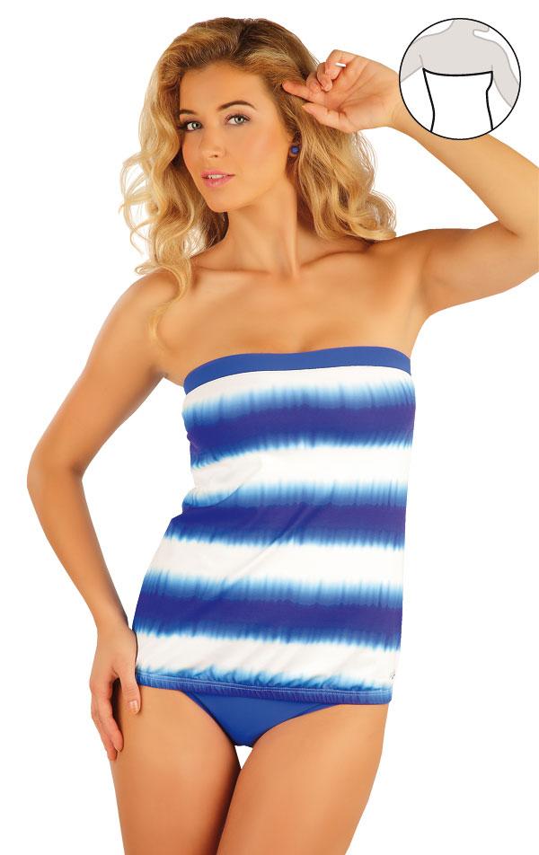 Plavky top dámský s vyjímat. výztuží. 93083 | Dámské plavky LITEX
