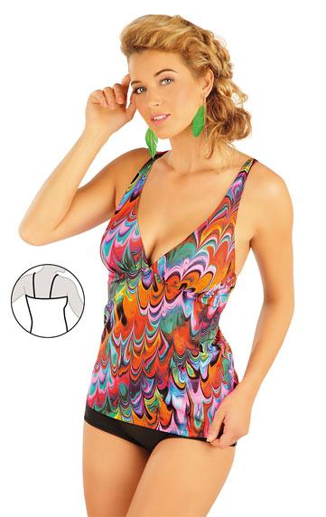 Plavky top dámský s kosticemi.