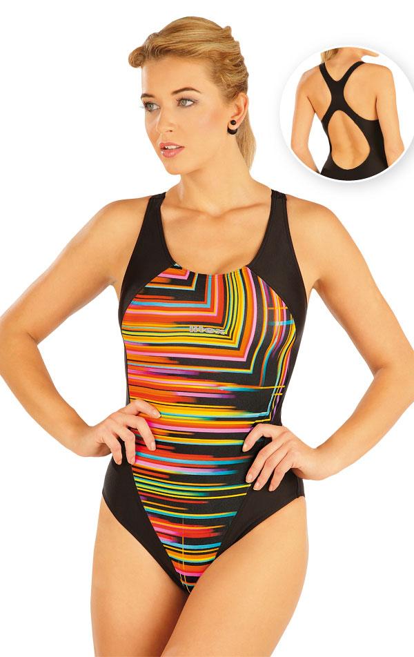 Jednodílné sportovní plavky. 93473   Sportovní plavky LITEX