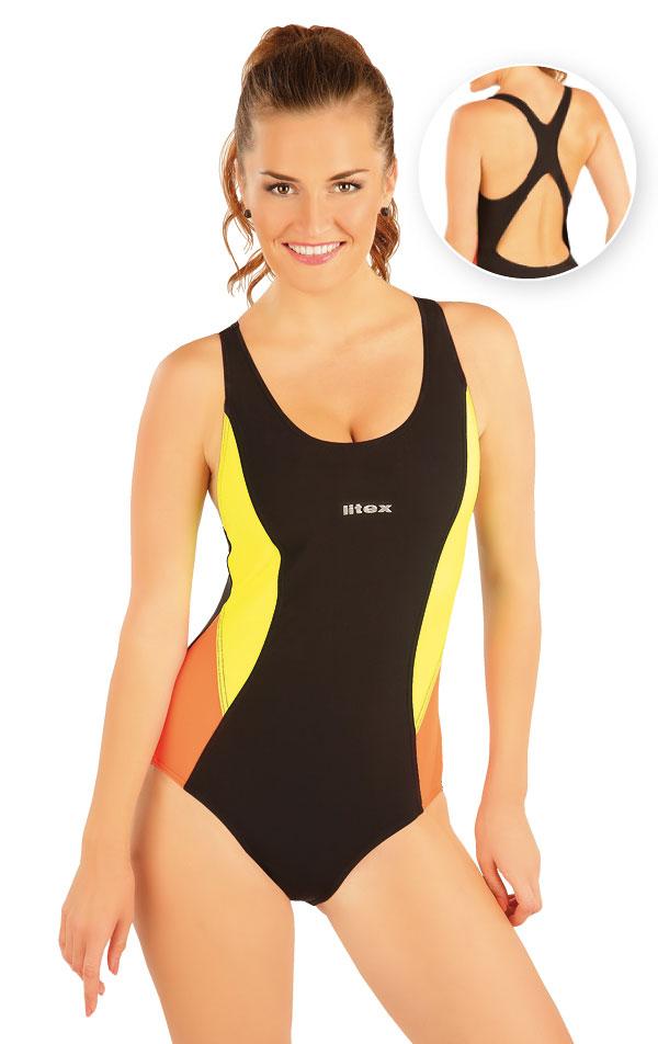 Jednodílné sportovní plavky. 93486 | Sportovní plavky LITEX