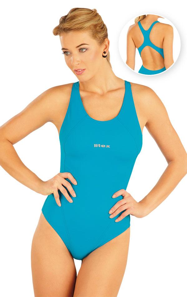 Jednodílné sportovní plavky. 93488 | Sportovní plavky LITEX