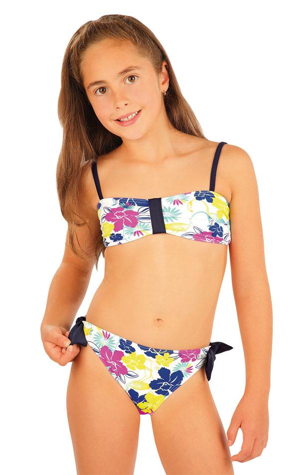 Dívčí plavky kalhotky bokové. 93543   Dívčí a dětské plavky LITEX