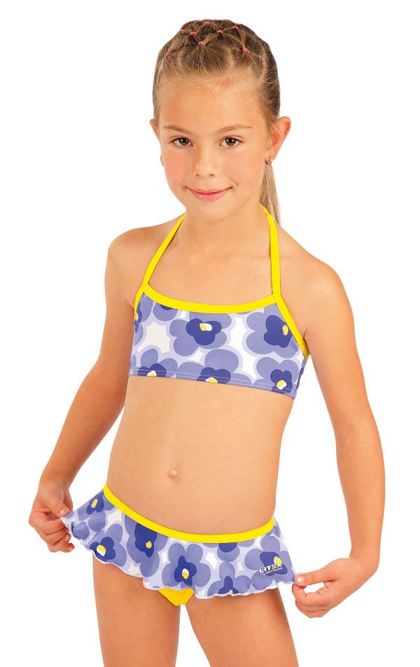 Dívčí plavky kalhotky bokové. 93567   Dívčí plavky LITEX