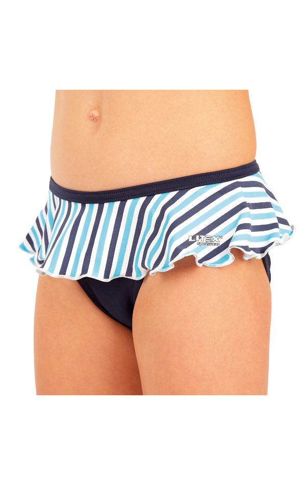 Dívčí plavky kalhotky bokové. 93571 | Dívčí plavky LITEX