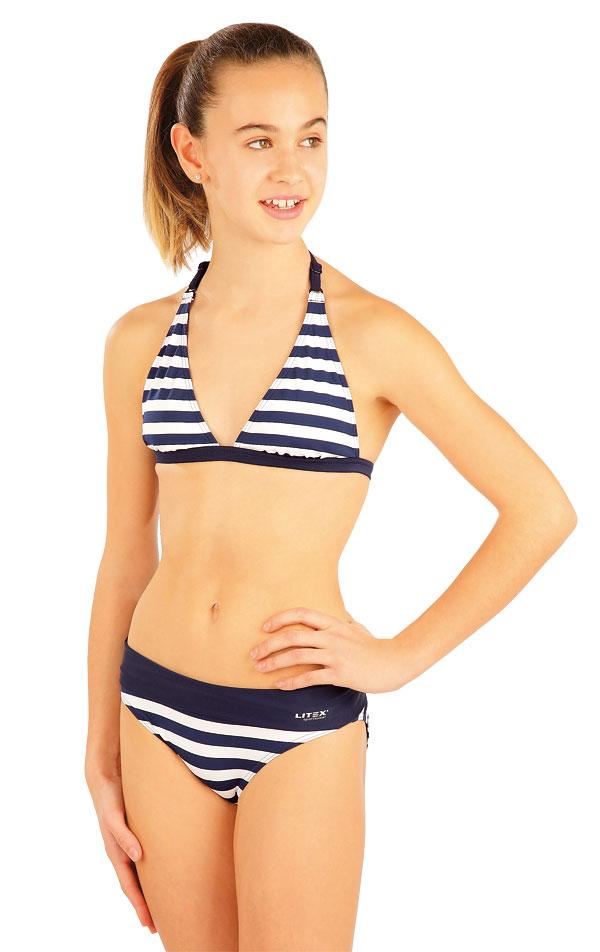 Dívčí plavky kalhotky bokové. 93577 | Dívčí plavky LITEX
